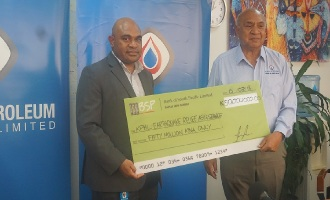 KPHL donates K50m to earthquake relief fund