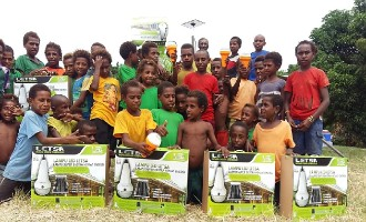 Kumul Petroleum Holdings supports education through solar lamps donation