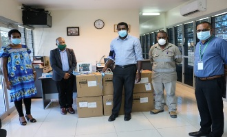 Kumul Petroleum delivers life-saving medical equipment to Port Moresby General Hospital