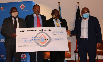 Kumul Petroleum Board declares an interim dividend of K100 million to the State