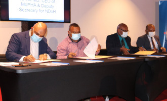 Kumul Petroleum signs MOA with Ministry of Health to support specialist health facilities